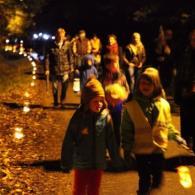 de lantaarnstoet in Mol-Ezaart 2012 (foto: Hans Cools)